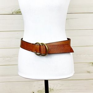 GAP Leather double ring belt